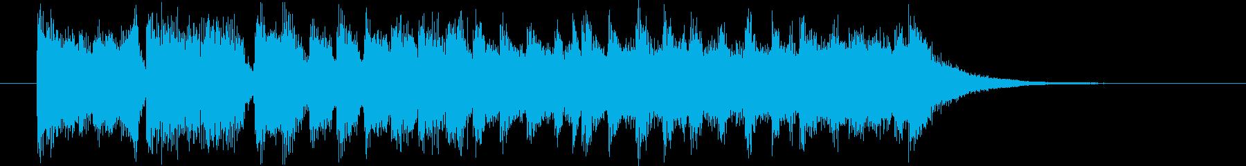 明るく楽しいデパートCM用の再生済みの波形