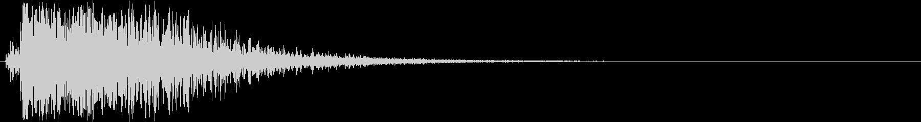 【衝撃】 23 ガンッ ヒットの未再生の波形
