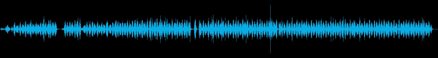 ハックソー:金属ソーの切断の再生済みの波形