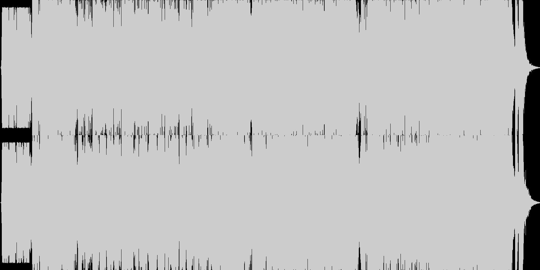 映画・ゲーム用バトルBGM8の未再生の波形