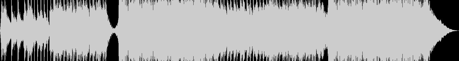 超スタイリッシュなロックの未再生の波形