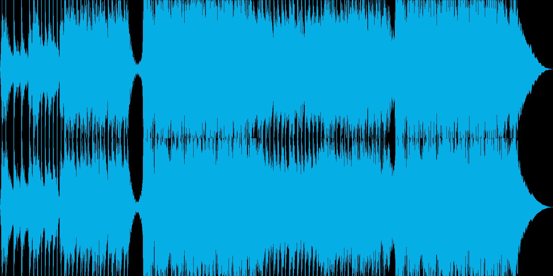 超スタイリッシュなロックの再生済みの波形