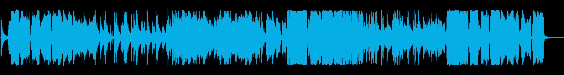 ジャズ 静か ハイテク アンビエン...の再生済みの波形