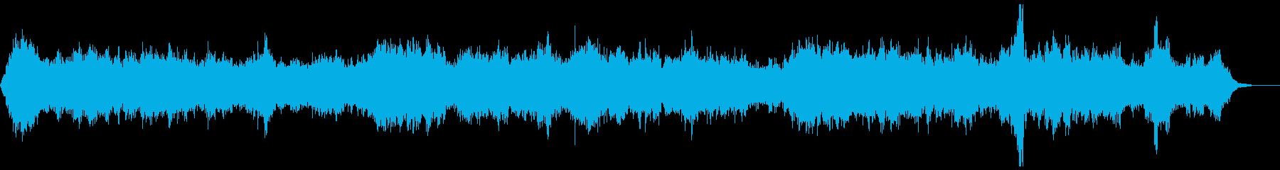 ゾンビ(グループ)うめき声2の再生済みの波形