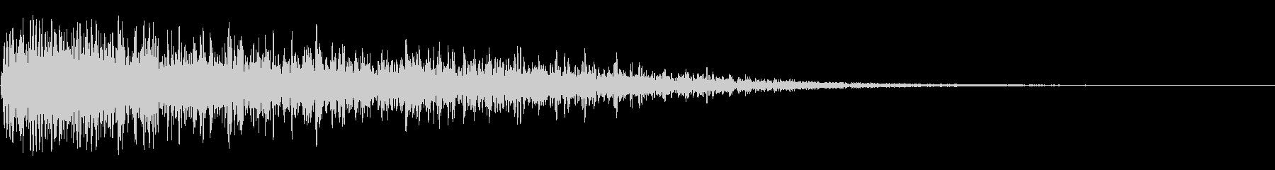 ディープクラッシュインパクトの未再生の波形