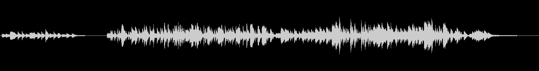 カンパネラ原曲冒頭をスタンウェイピアノでの未再生の波形