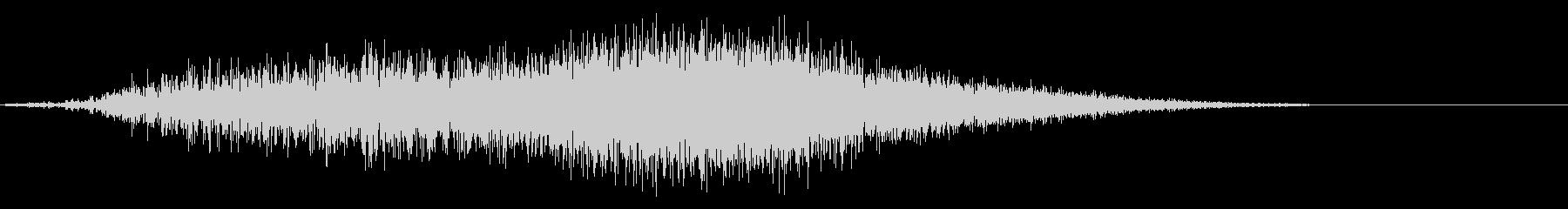シャープティアリングフーシャ1の未再生の波形