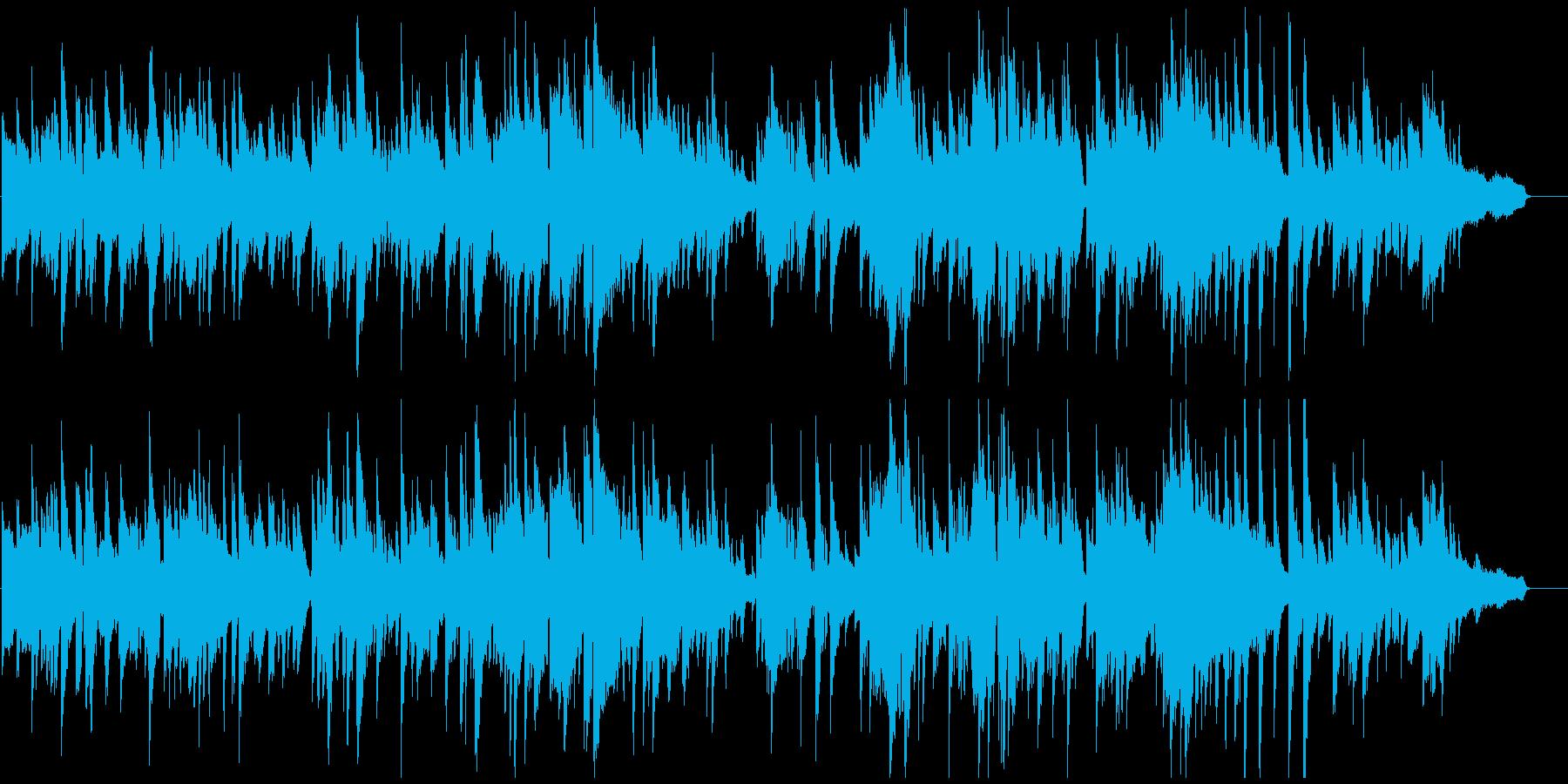 リラックス大人ムード、ジャズ・バラードの再生済みの波形