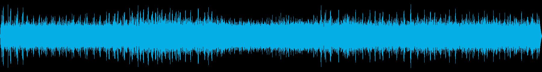 松虫と用水路の音【秋、夜遅く】の再生済みの波形