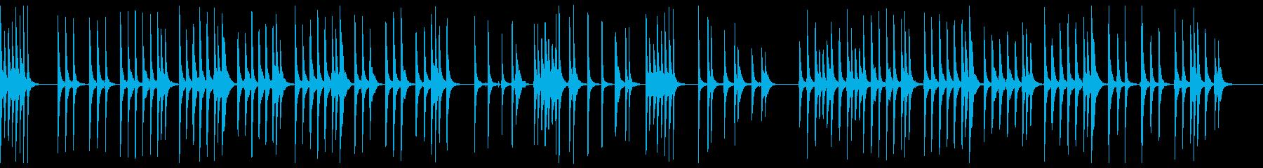 さくらさくら 三味線ソロの再生済みの波形