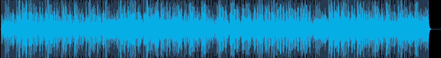 爽やかでキュートなアコースティックポップの再生済みの波形