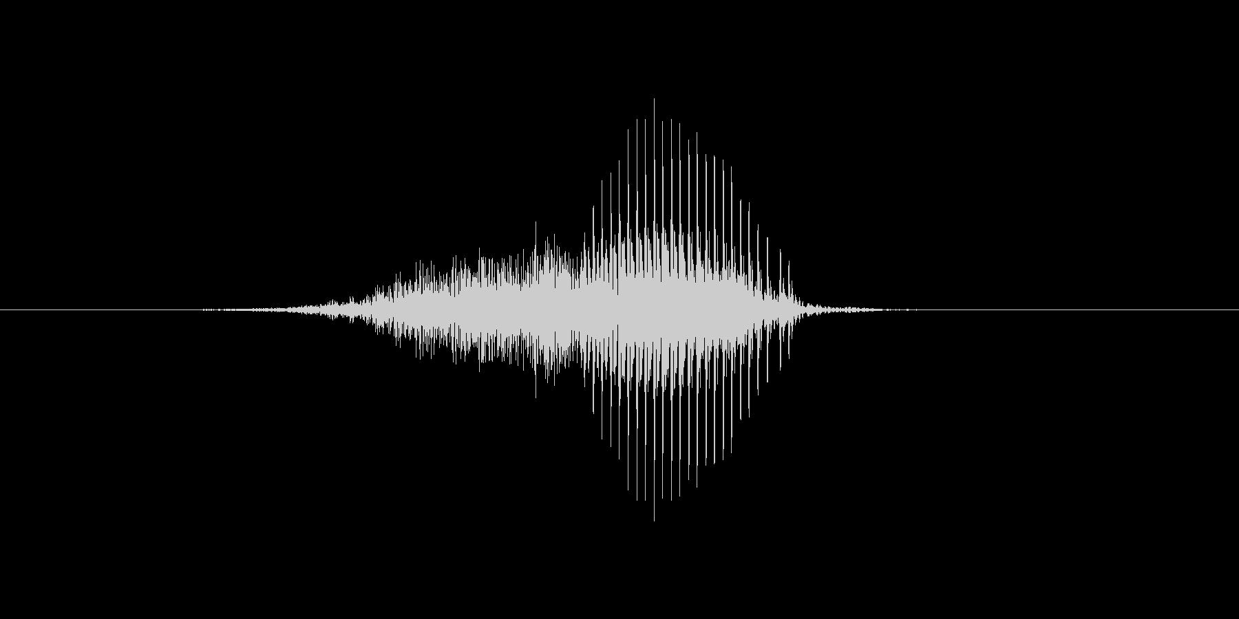 4(4、し)の未再生の波形