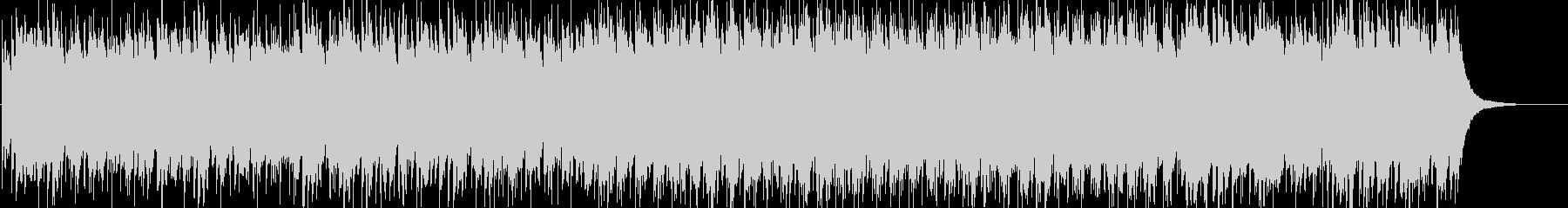 琴とクワイアの不思議な和風曲の未再生の波形
