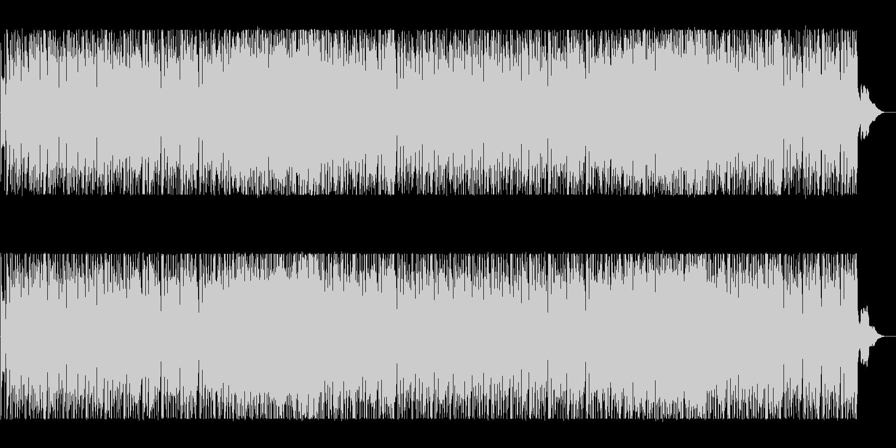 落ち着いたポップBGMの未再生の波形