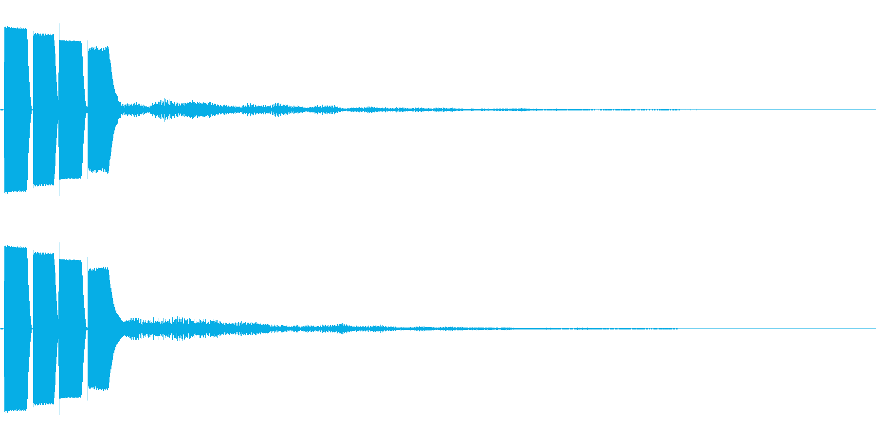 決定音/ボタン/システム/シンプル E3の再生済みの波形