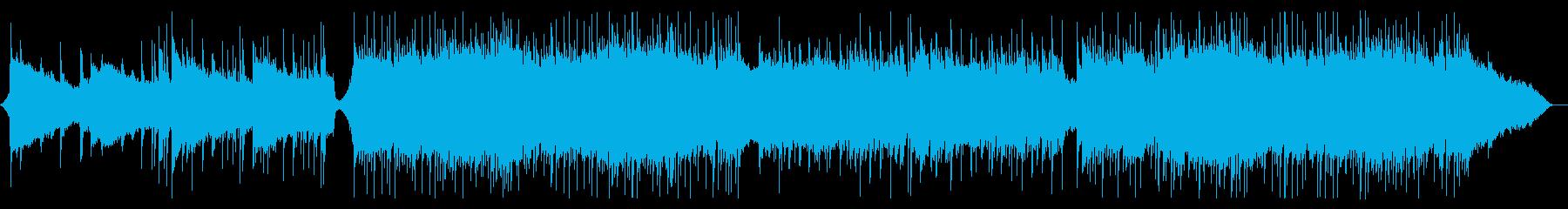 ジワジワ盛り上がるクールなロックの再生済みの波形