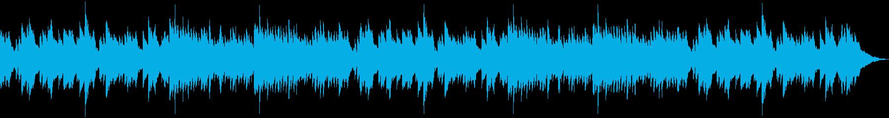 切ない別れシーン用ピアノバラードの再生済みの波形