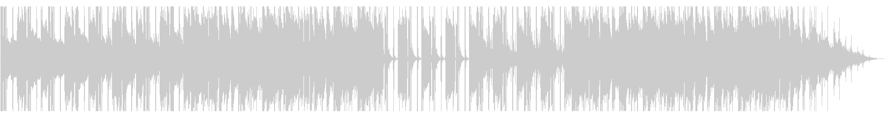 怪しい/ヒップホップ_No417の未再生の波形