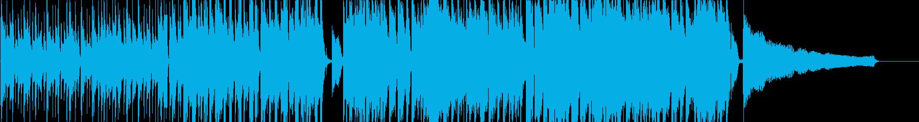 スタイリッシュなアコースティックロックの再生済みの波形
