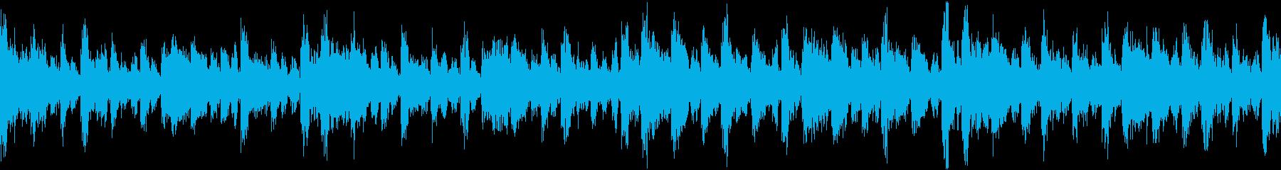 パーカッション 侵略 ループ 物々しいの再生済みの波形