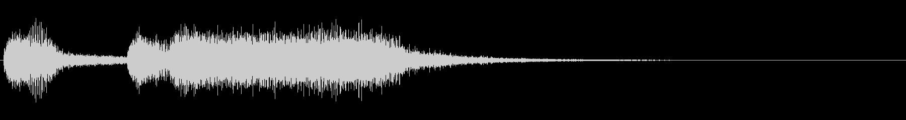 勝利のファンファーレ/オーケストラ/3秒の未再生の波形