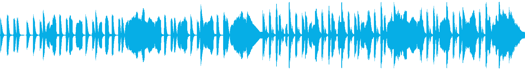 リコーダーとピアノのほのぼの脱力系の再生済みの波形