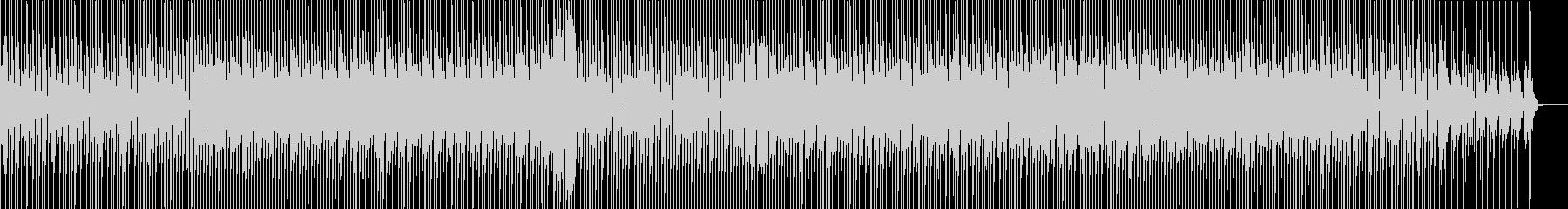 緊張感のあるテクノの未再生の波形