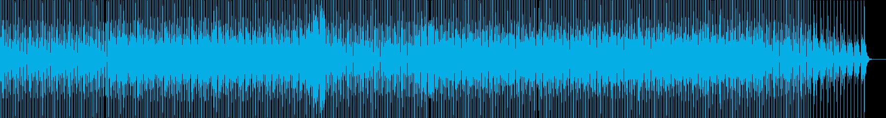 緊張感のあるテクノの再生済みの波形