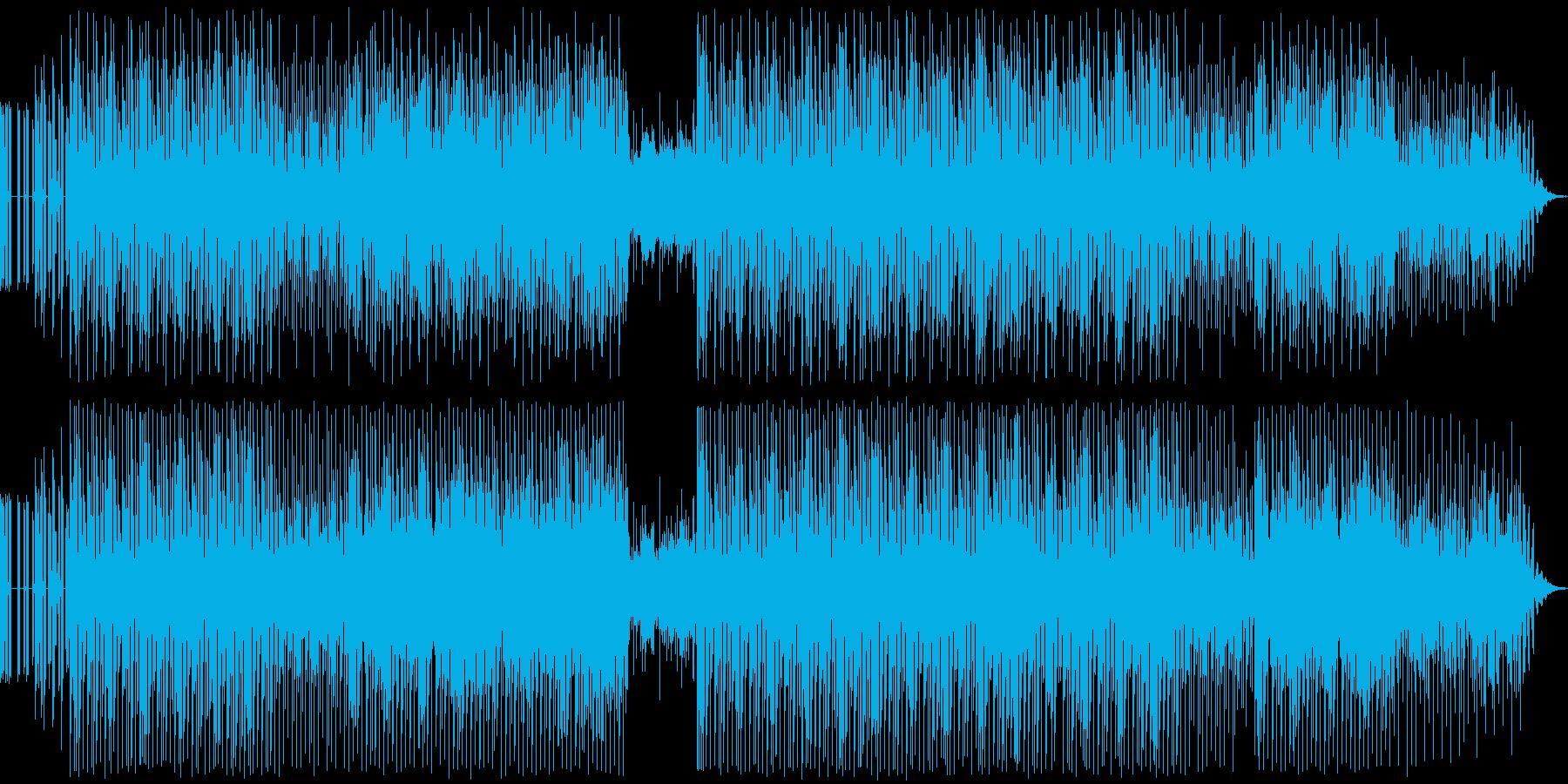 ポップ テクノ 中華 ハウス ダン...の再生済みの波形