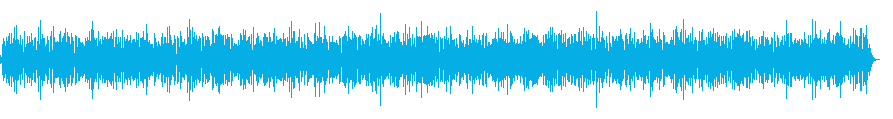 優しくおしゃれなカフェボサノバCMやVPの再生済みの波形