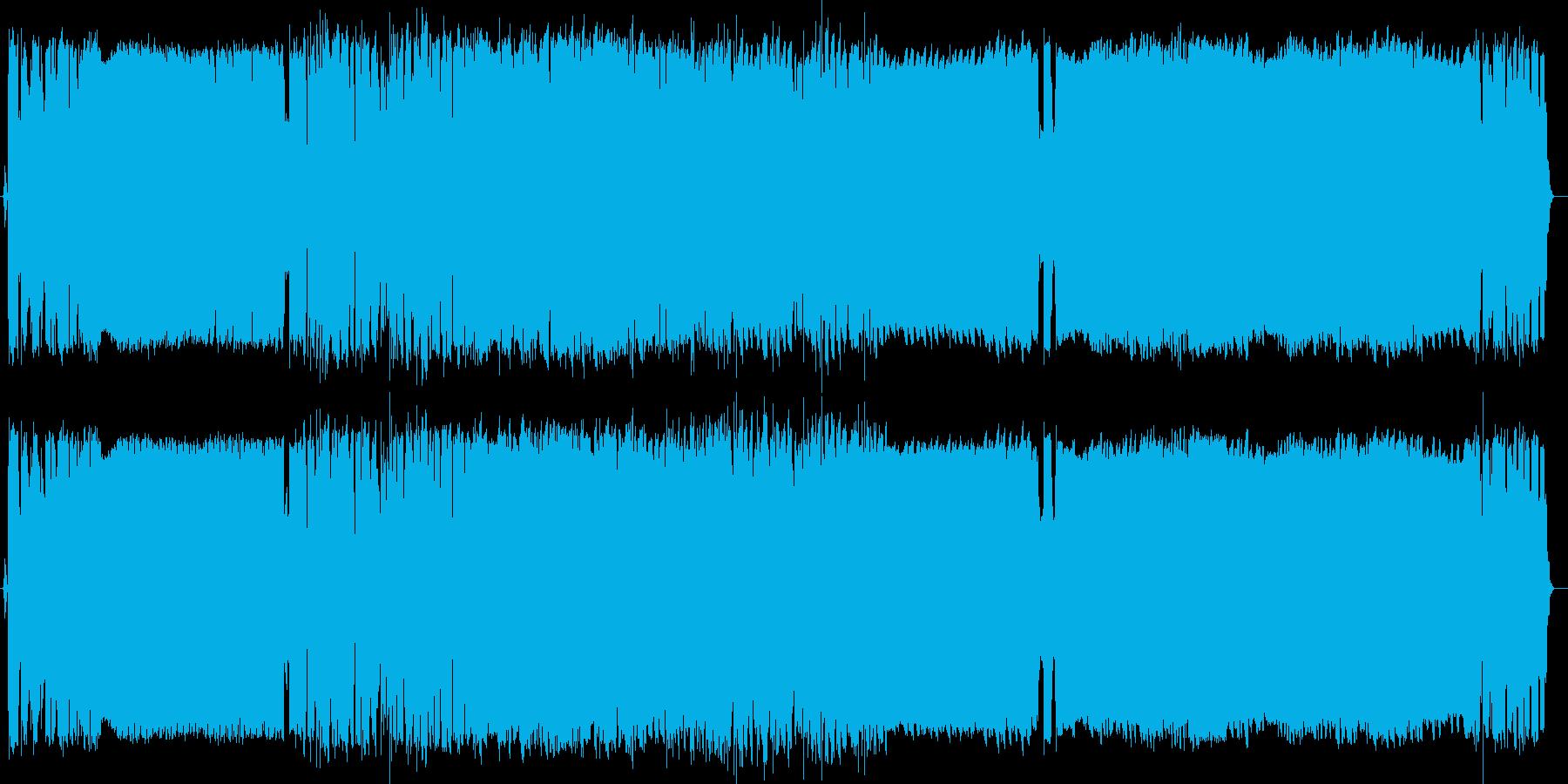 アニソン風デジタルロック 90秒ver の再生済みの波形