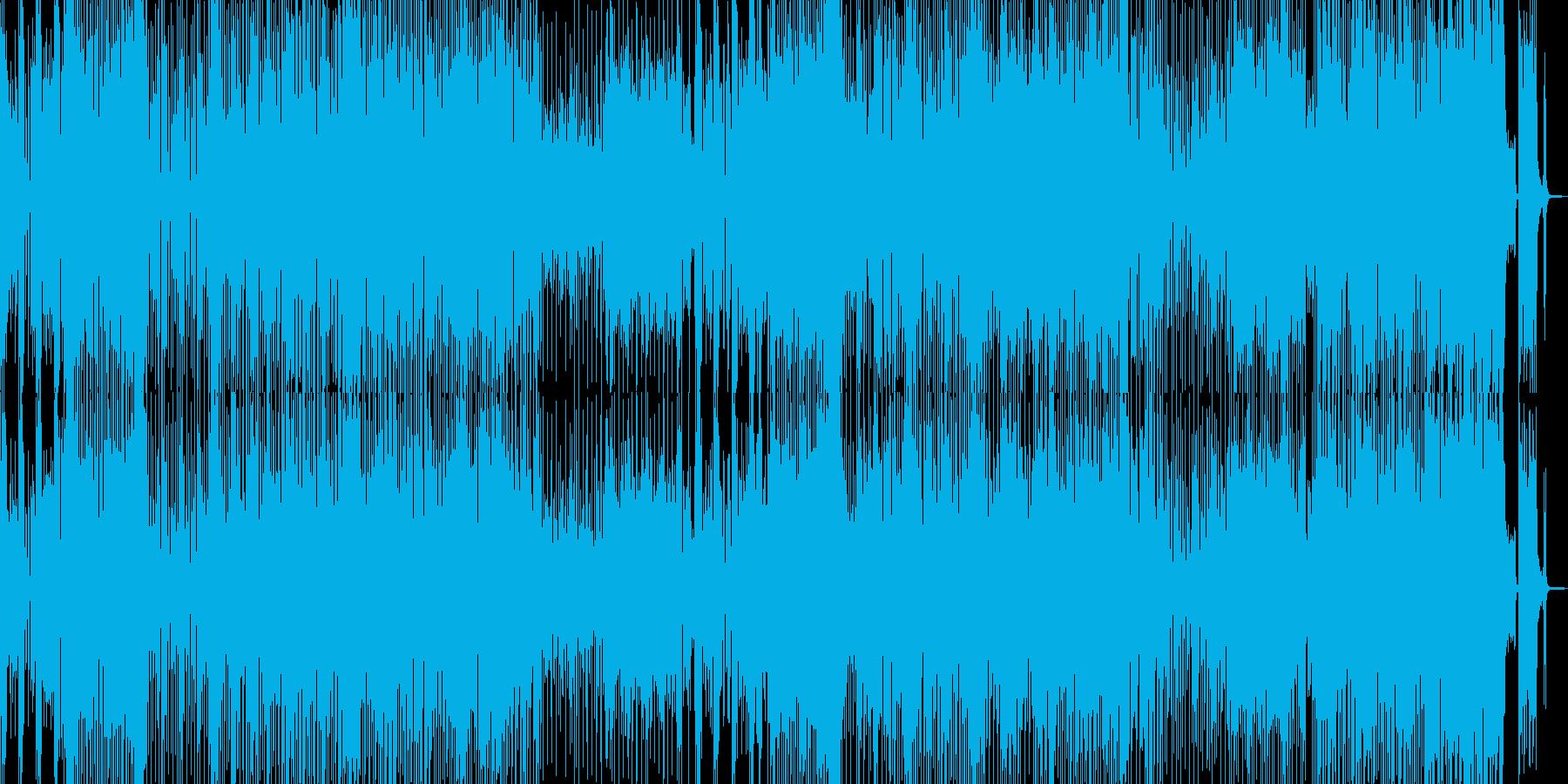 ツーリング日和・軽快なトランペットジャズの再生済みの波形