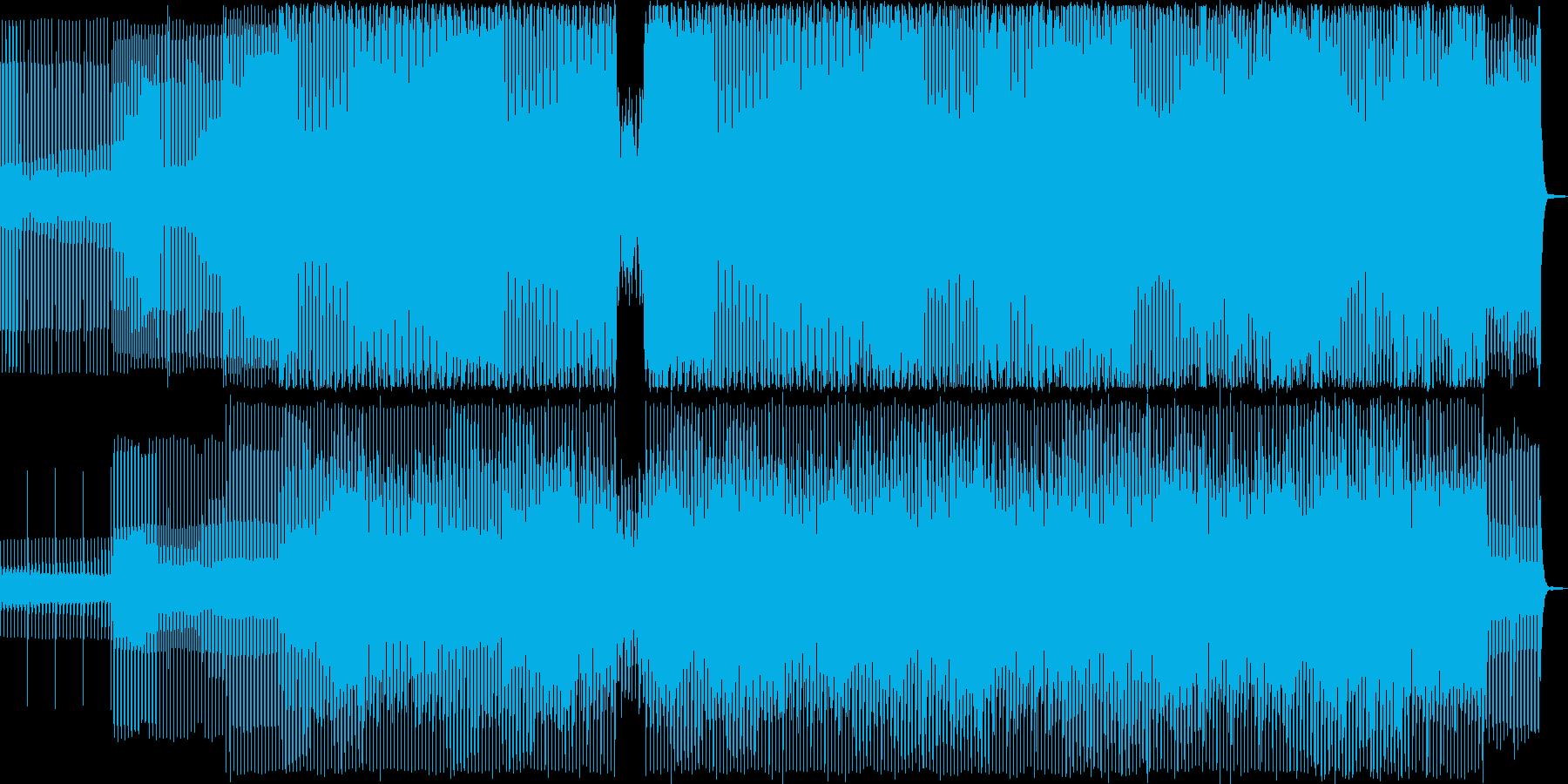 3拍子の民族調ミニマル曲・ダンスの再生済みの波形