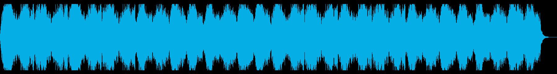 哀愁感あるストリングス ファンタジー楽曲の再生済みの波形