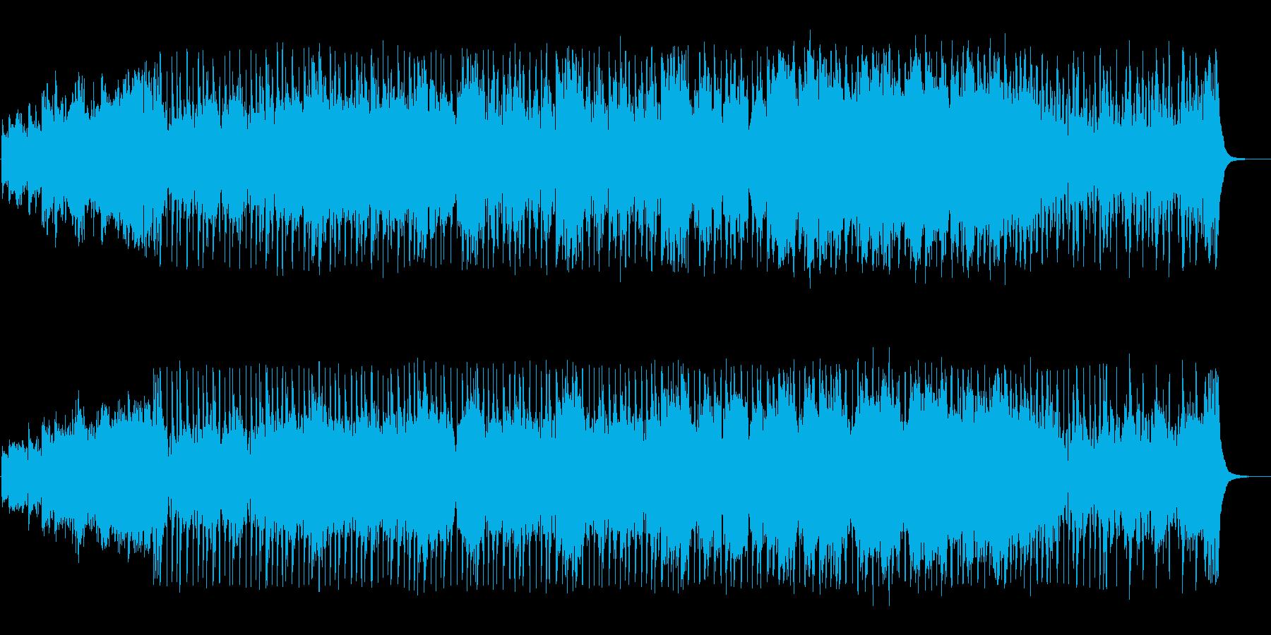 メロディアスなポップスの再生済みの波形