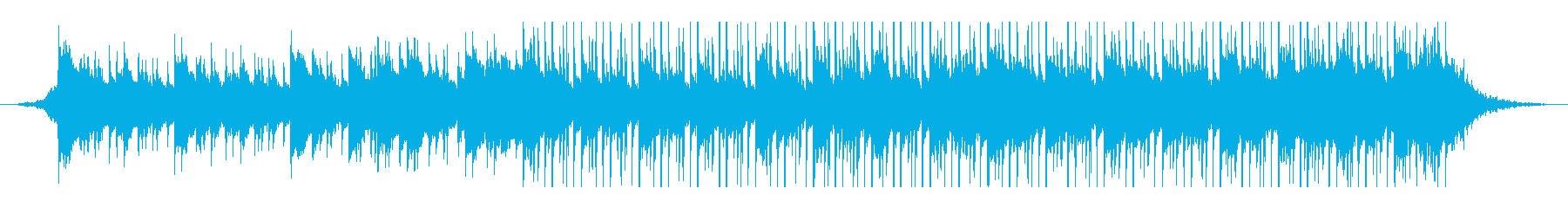 アラビア音楽(60秒)の再生済みの波形