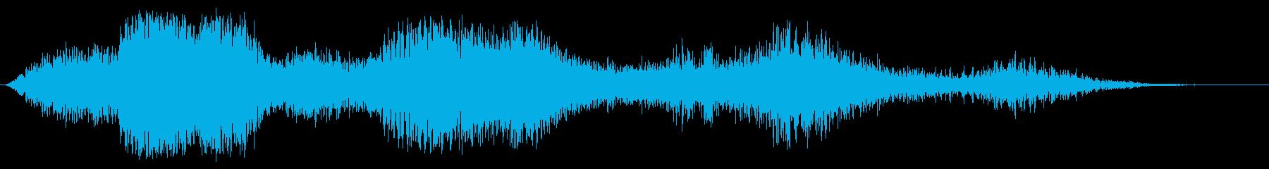 ピンボールウィザードフーシュの再生済みの波形