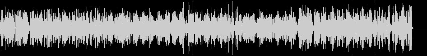 テンポ速めの「かたつむり」の未再生の波形