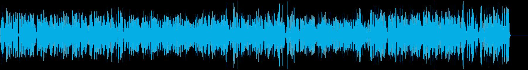 テンポ速めの「かたつむり」の再生済みの波形
