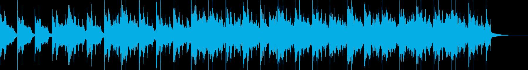 シネマティックなホラー/CMや予告編などの再生済みの波形