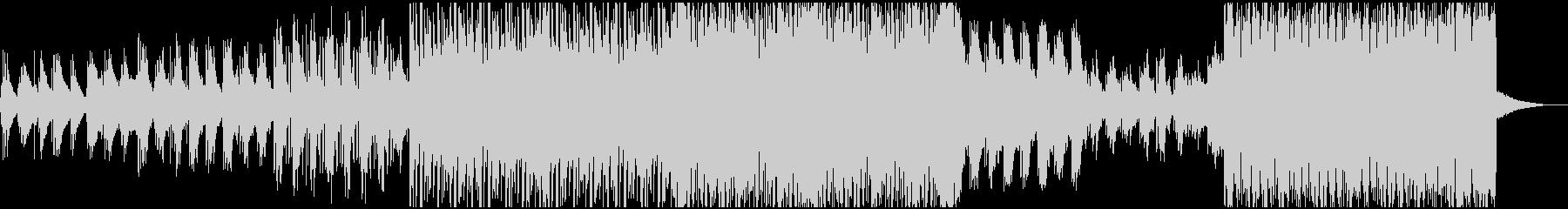 アコギの爽やかなボッサ、ジャジーハウスの未再生の波形