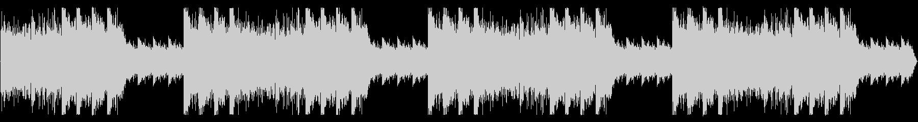 ダーク、怪しい雰囲気のBGMの未再生の波形
