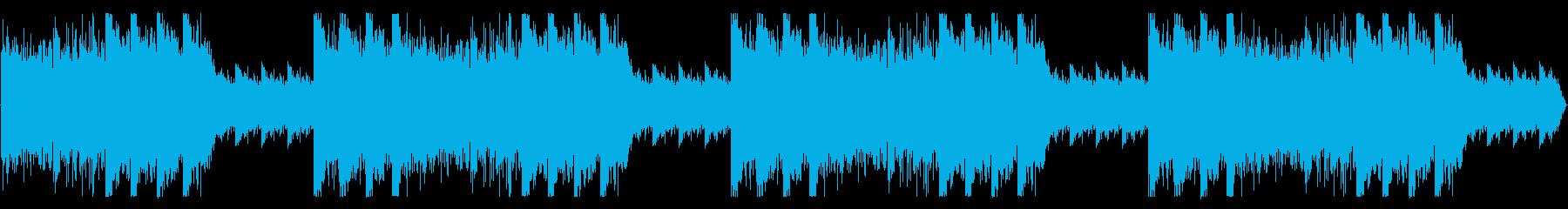 ダーク、怪しい雰囲気のBGMの再生済みの波形