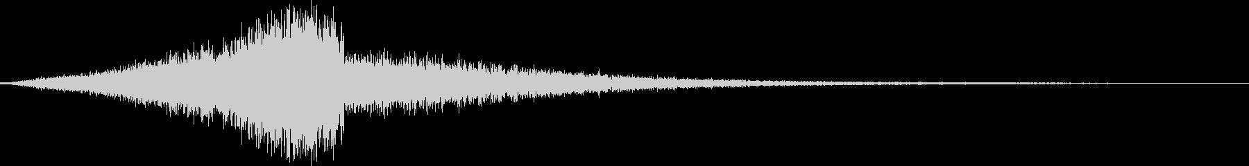 CINEMATIC REVERSE_01の未再生の波形