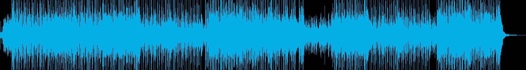 琴・尺八・レトロな演歌調ポップ 長尺の再生済みの波形