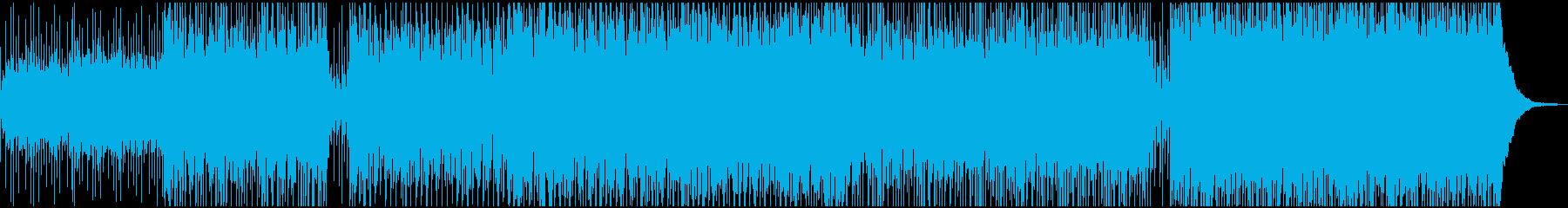 民謡でインスピレーションのある曲の再生済みの波形