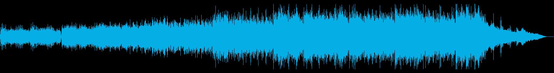 電子的でトライバルなエレクトロニカの再生済みの波形