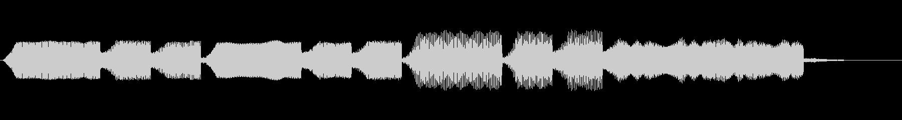 ファミコンセーブ音3の未再生の波形