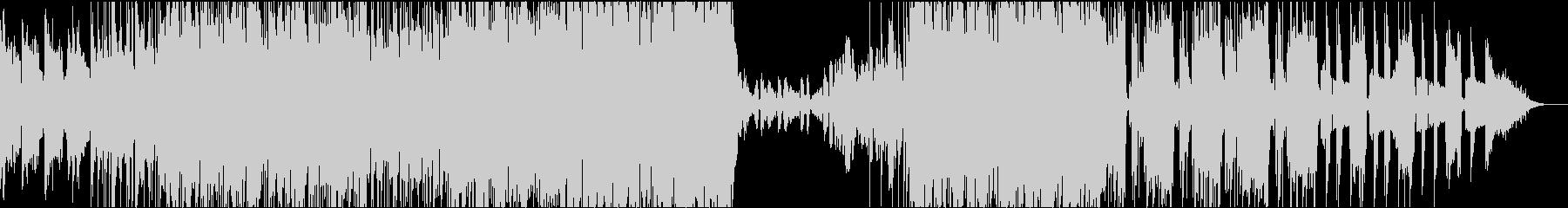 エレピとシンセが掛け合うサイケ・ポップの未再生の波形