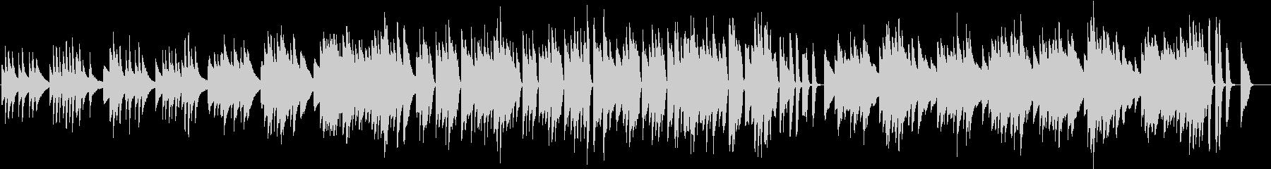 エンターテイナー(ピアノカバー)の未再生の波形